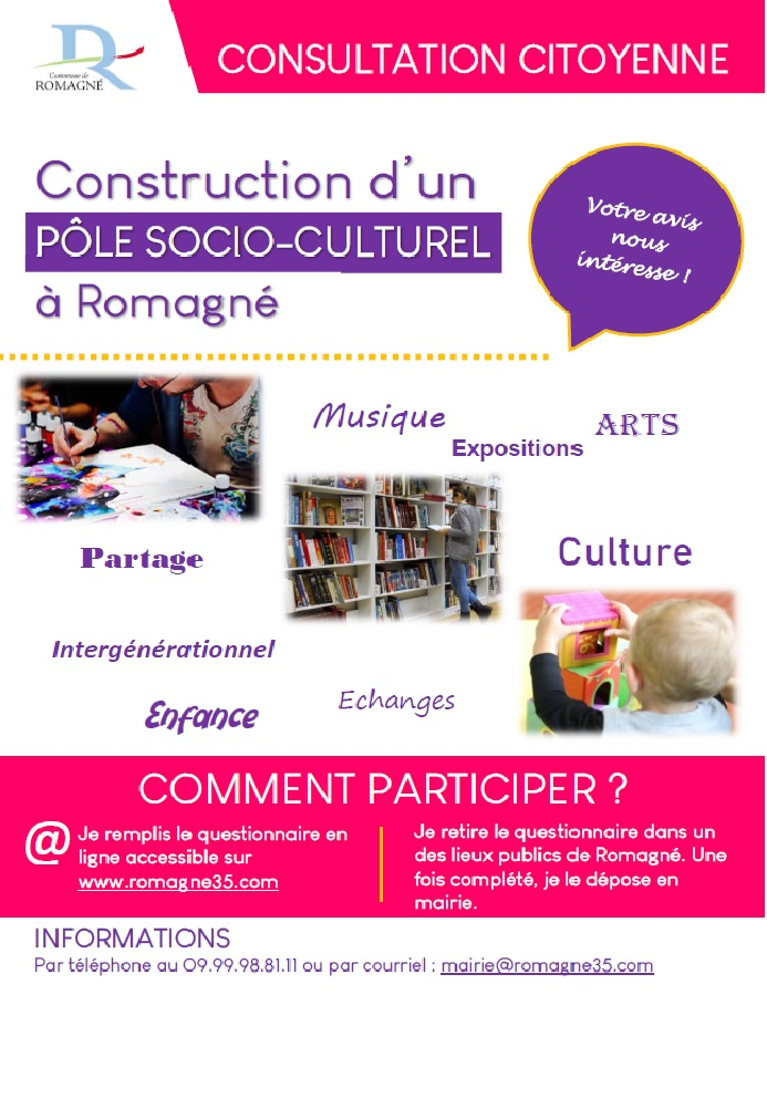Affiche Consultation citoyenne